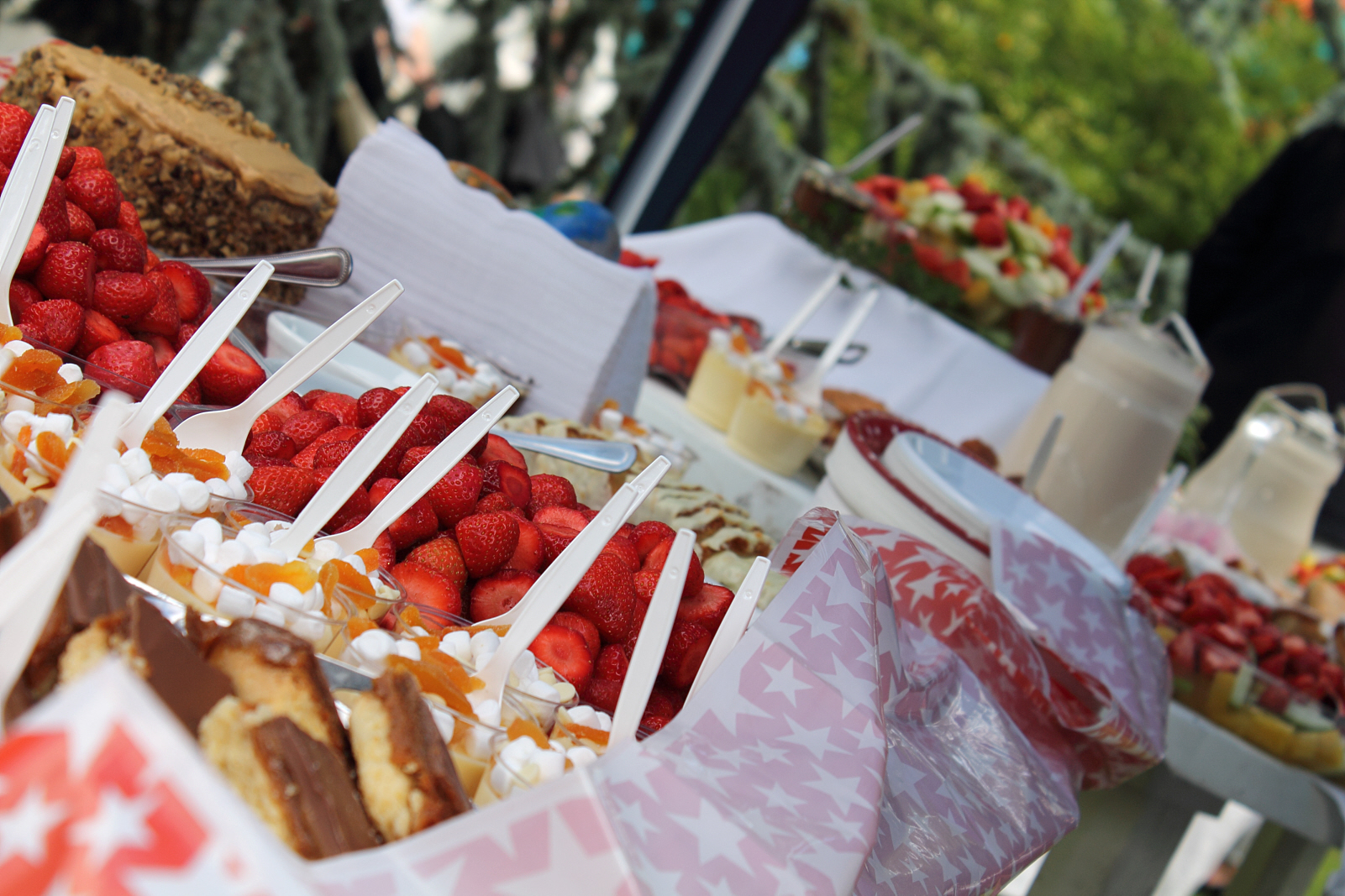 Executive Direct can look after all your outdoor catering requirements